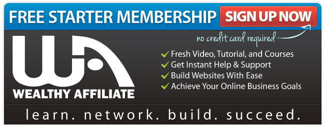 Wealthy Affiliate Free Accounts